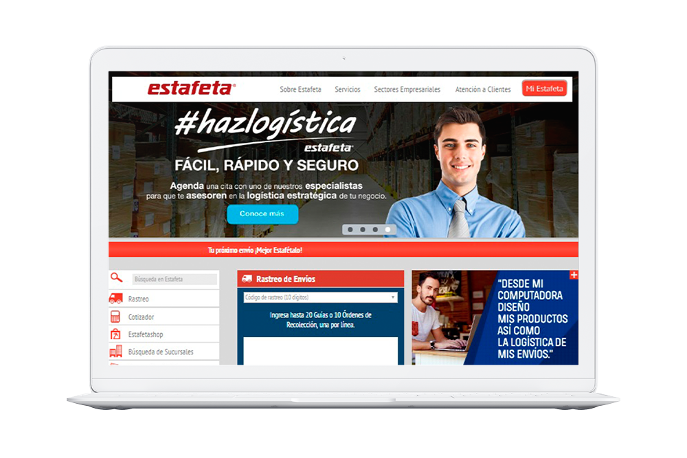 Website Estafeta